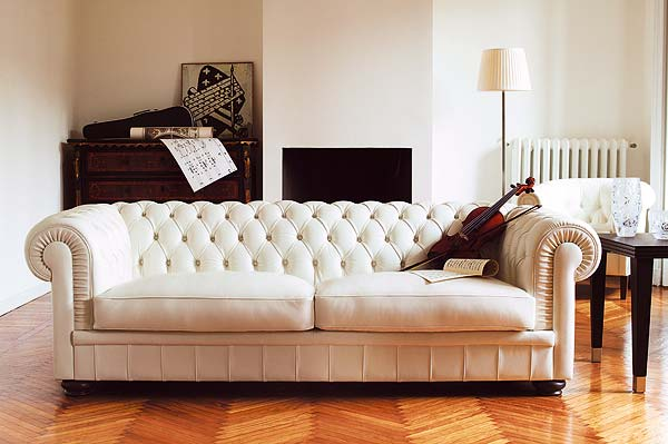 5 pieces of tufted furniture you should own scott emma for Tufted couches for sale