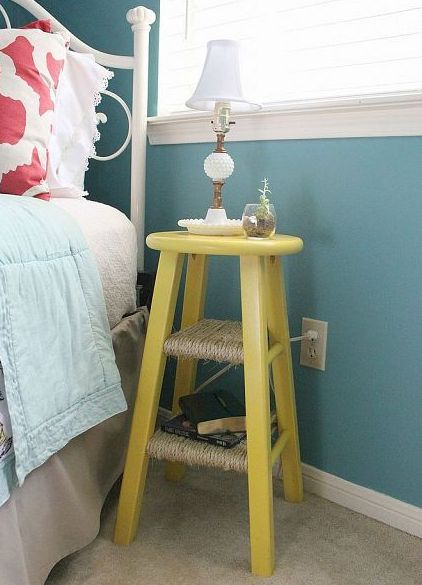 Stool Bedside Table: Best Bedside Tables