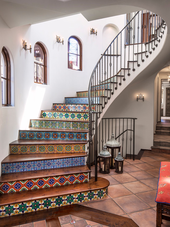 Inspiration for decorating stairs scott emma - How to decorate a staircase ...