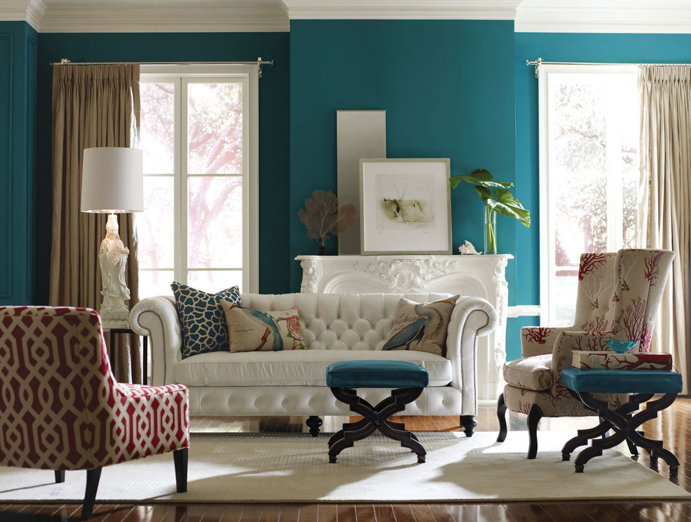 Living room color schemes for this season scott emma - Blue living room color schemes ...